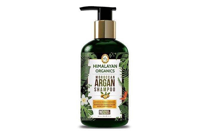 HIMALAYAN ORGANICS Moroccan Argan Shampoo