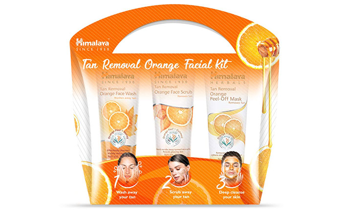 Himalaya Tan Removal Orange Facial Kit