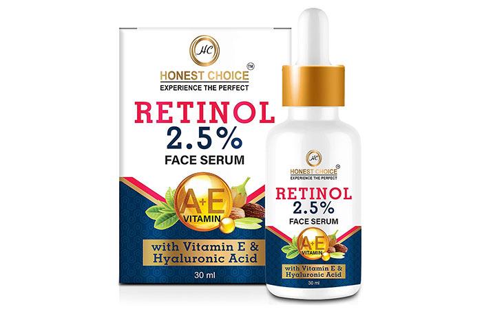 Honest Choice Retinol 2.5% Facial Serum