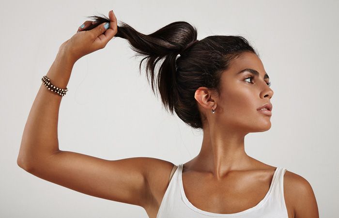 Keep Your Head And Ponytail High