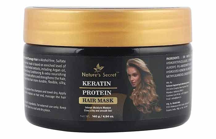 Nature's Secret Keratin Protein Hair Mask