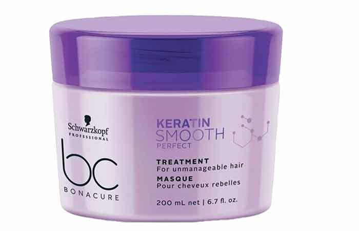 Schwarzkopf Professional bc Bonacure Keratin Smooth Perfect Treatment Mask