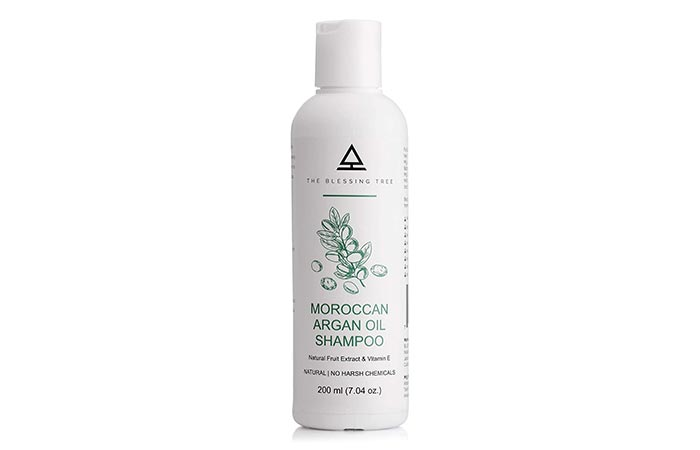 THE BLESSING TREE Moroccan Argan Oil Shampoo