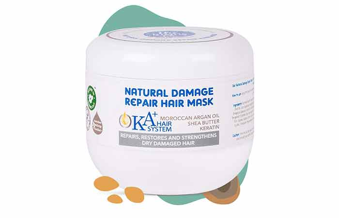The Moms Co. Natural Damage Repair Hair Mask