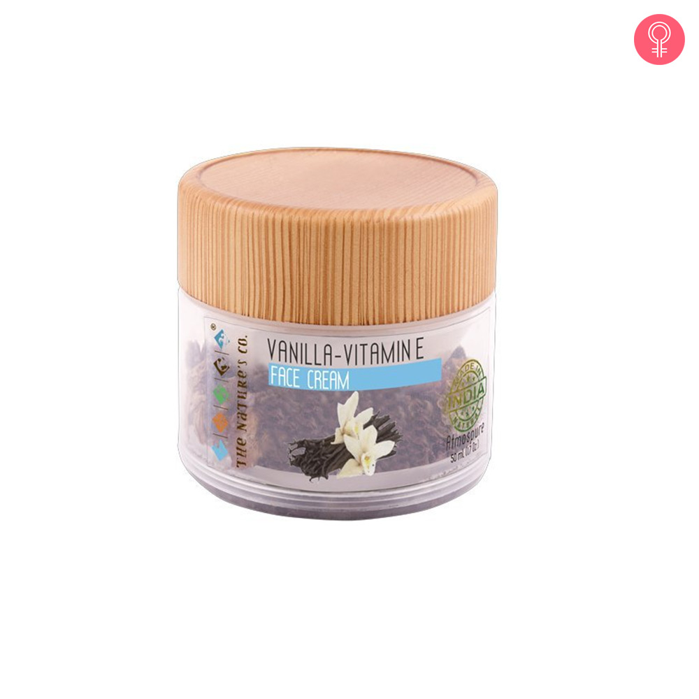 The Nature's Co. Vanilla Vitamin E Face Cream