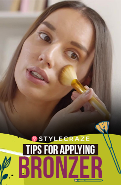 How To Apply Bronzer Perfectly