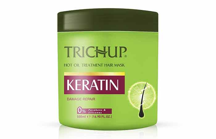Trichup Keratin Damage Repair Hot Oil Treatment Hair Mask