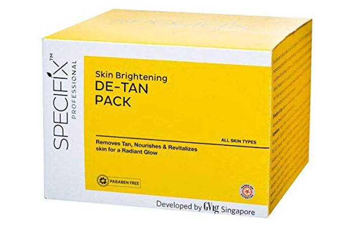 VLCC Specifix Skin Brightening De-Tan Pack