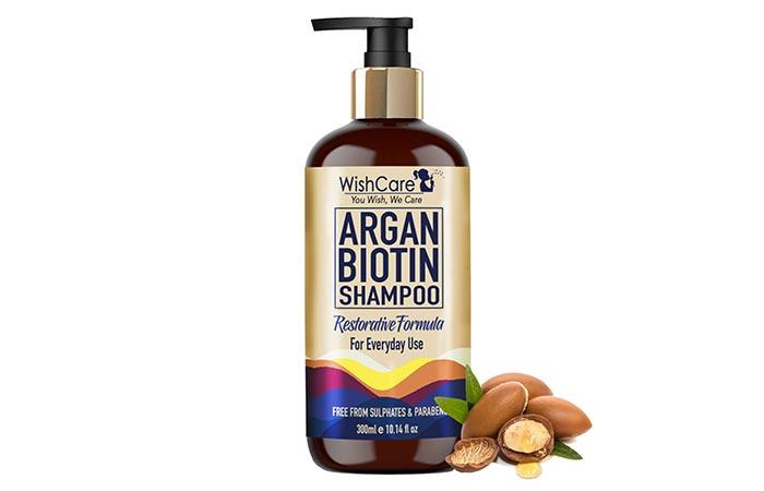 WishCare Argan Biotin Shampoo