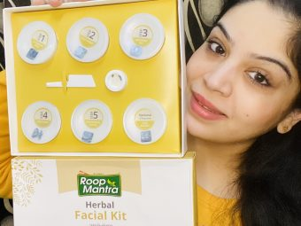 Roop Mantra Herbal Facial Kit pic 2-Get that salon glow at home-By shilpa_chanana