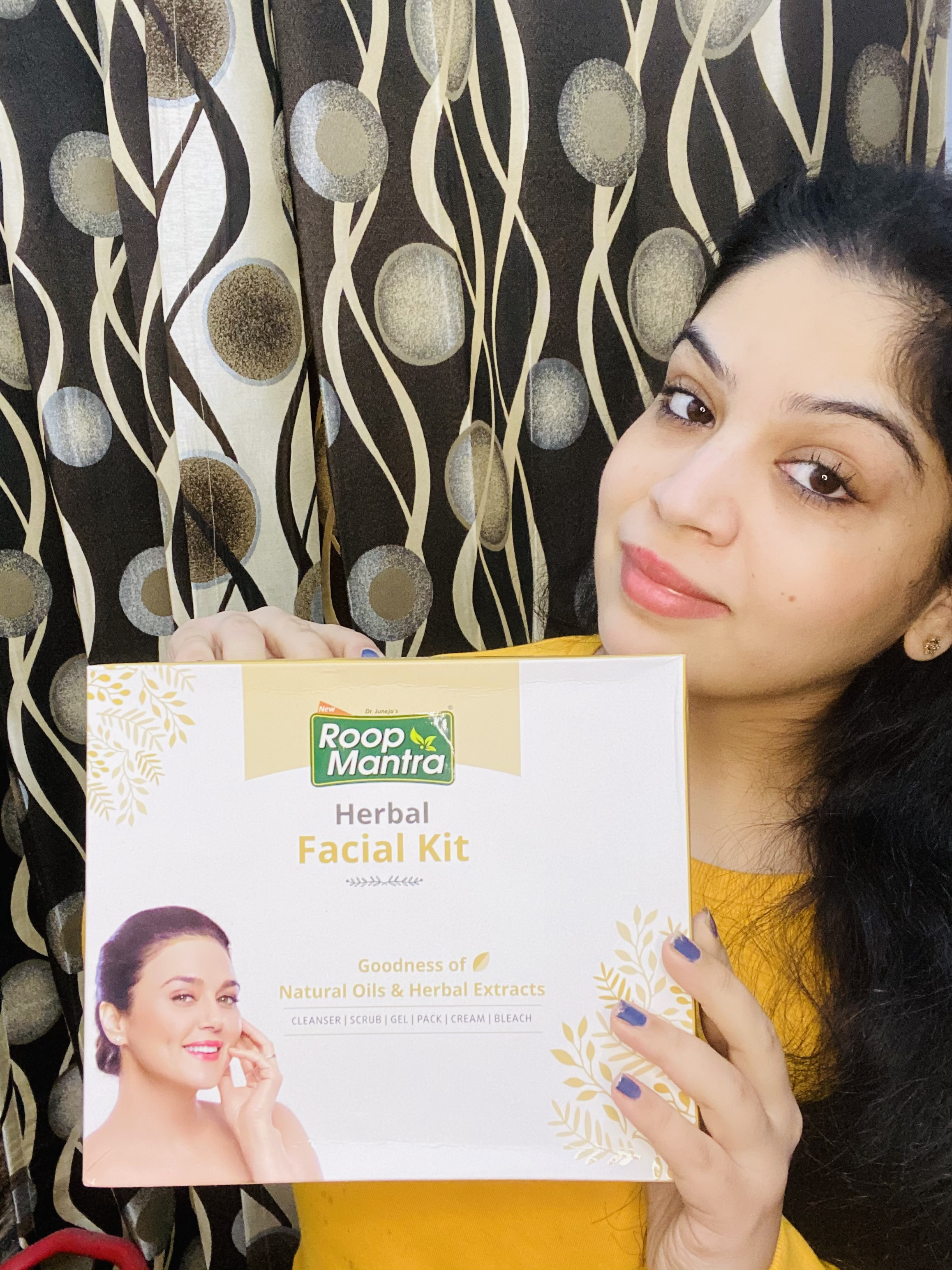 Roop Mantra Herbal Facial Kit pic 1-Get that salon glow at home-By shilpa_chanana