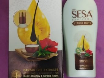 Sesa+ Strong Roots -Lush healthy hair in a matter of weeks-By benecia