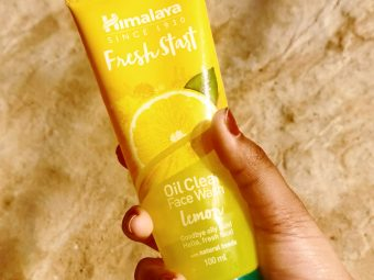 Himalaya Herbals Fresh Start Oil Clear Lemon Face Wash -A must try product-By jenna__