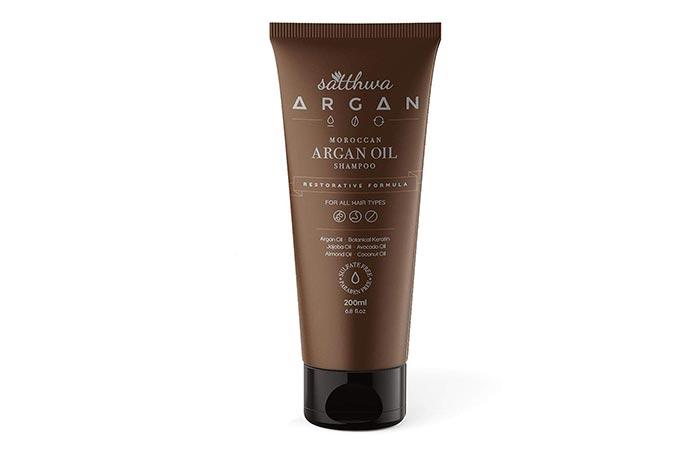 satthwa Moroccan Argan Oil Shampoo