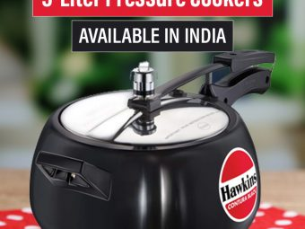 10 Best 5-Liter Pressure Cookers Available In India