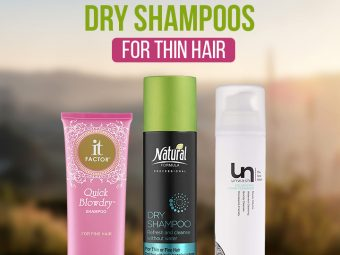 11 Best Drugstore Dry Shampoos For Thin Hair