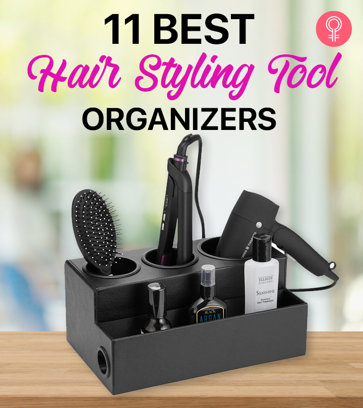 11 Best Hair Styling Tool Organizers Of 2021