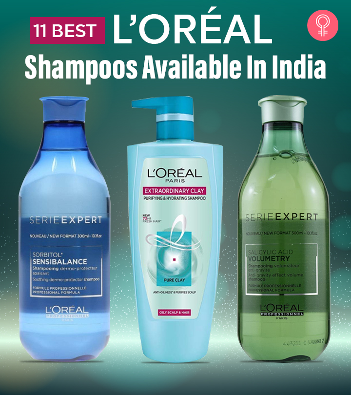 11 Best L'Oréal Shampoos Available In India
