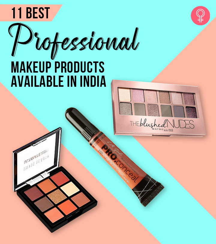 11 Best Professional Makeup Products Available In India