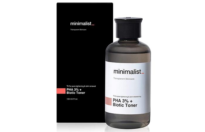 Minimalist PHA 3% + Biotic Toner