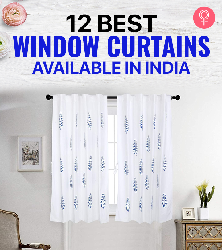 12 Best Window Curtains Available In India