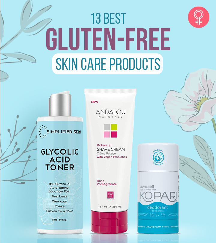 13 Best Gluten-Free Skin Care Products