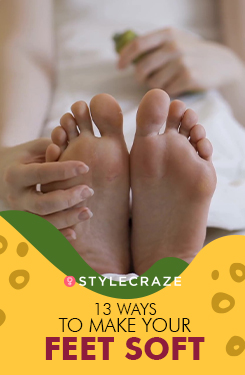 13 Ways To Make Your Feet Soft