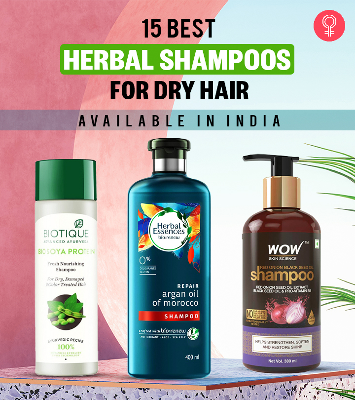 15 Best Herbal Shampoos For Dry Hair Available In India