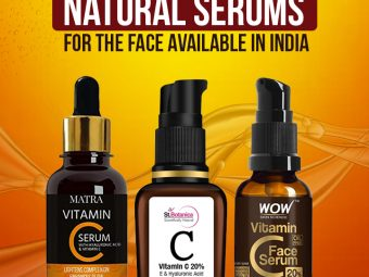 15 Best Natural Serums For The Face Available In India-1
