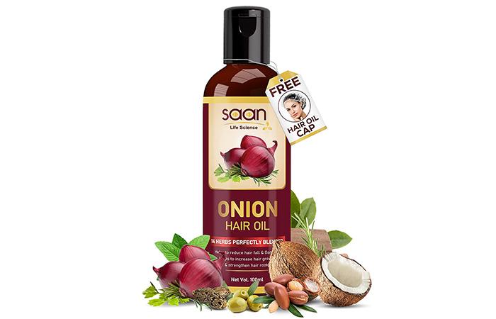 Saan Life Science ONION HAIR OIL