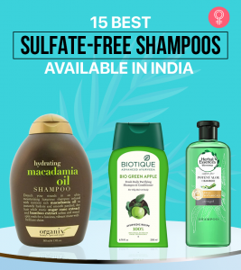 15 Best Sulfate-Free Shampoos Available In India