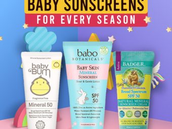 16 Best & Safest Baby Sunscreens For Every Season