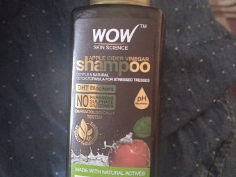 WOW Skin Science Apple Cider Vinegar Shampoo – No Parabens & Sulphate – 300 ml -Best shampoo-By nextdoor_beautyblogger