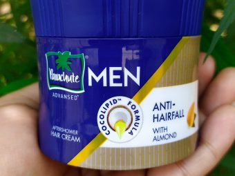 Parachute Advansed Men Anti Hairfall Hair Cream, With Almond Oil -Mind blowing product-By dilwala_foodie
