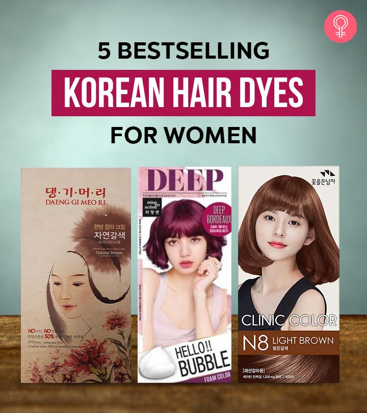 5 Bestselling Korean Hair Dyes For Women – 2021