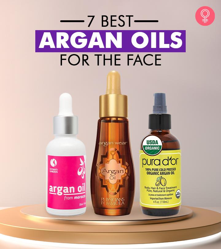 7 Best Argan Oils For The Face – 2021