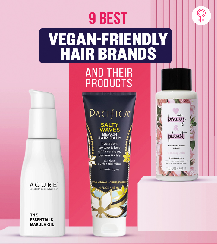 9 Best Vegan-Friendly Hair Brands And Their Products