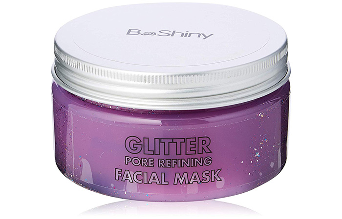 BeShinyGlitter Pore Refining Facial Mask