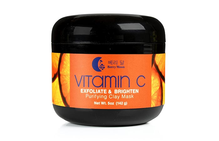 Berry Moon Vitamin C Exfoliate And Brighten Purifying Clay Mask