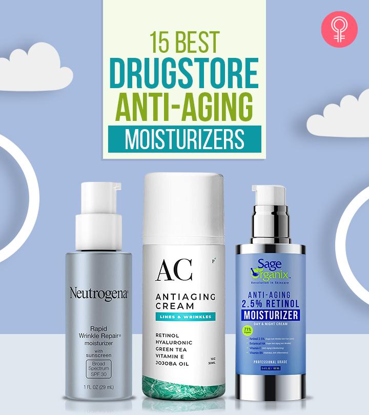 15 Best Drugstore Anti-Aging Moisturizers