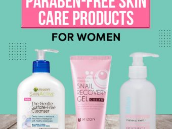 Best Paraben-Free Skin Care Products For Women