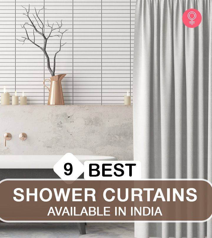 9 Best Shower Curtains Available In India