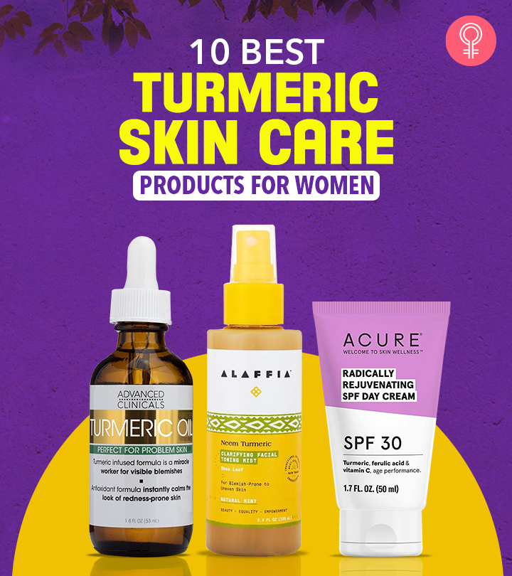 10 Best Turmeric Skin Care Products For Women