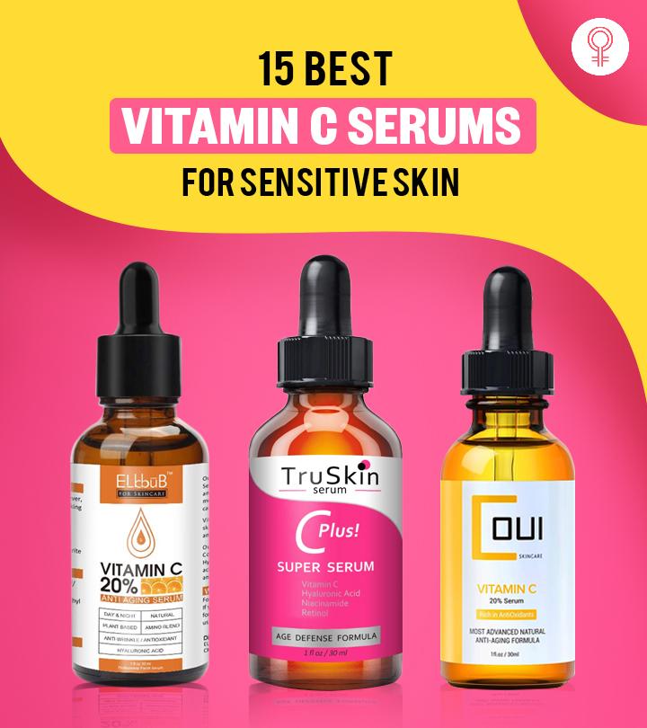15 Best Vitamin C Serums For Sensitive Skin