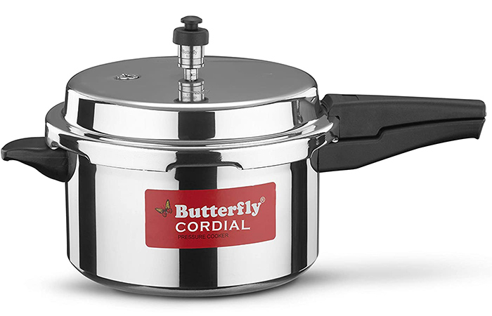 Butterfly Cordial Aluminum Pressure Cooker