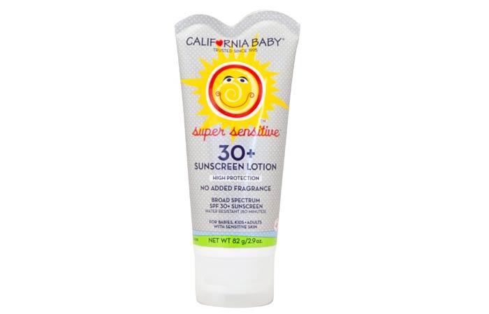 California Baby Super Sensitive Sunscreen Lotion
