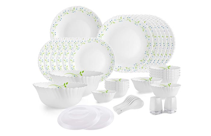 Cello Opalware Dazzle Tropical Dinner Set