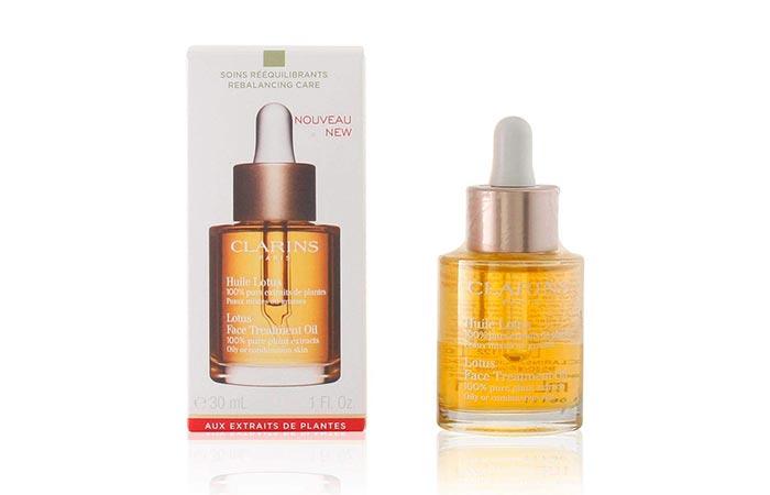 Clarins Paris Lotus Face Treatment Oil