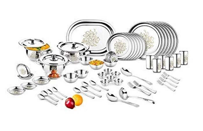 Classic Essentials Stainless Steel Dinner Set