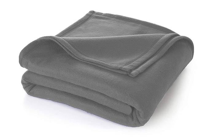 Cloth Fusion Glacial All Season Polar Fleece Double Bed Blanket